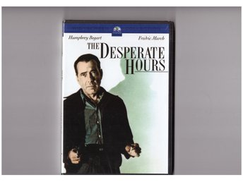 Desperate Hours (1955) (Humphrey Bogart, Fredric March) Ny Inplastad