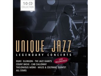 Various - Unique Jazz - Legendary Concerts (10xCD + Box)