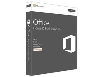 Microsoftr Office Mac Home & Business 1PK 2016 Nordic 1 License Eurozone Mediale