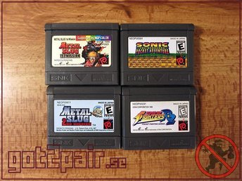 Metal Slug Sonic Metal Slug 2 King Of Fighters R2 till Neo Geo Pocket / NGP