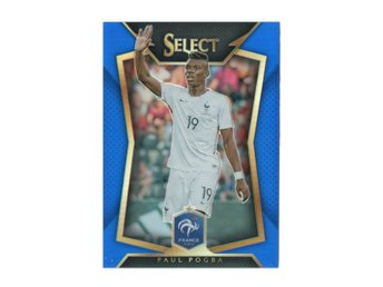 15-16 Panini Select Blue Prizm Paul Pogba /299