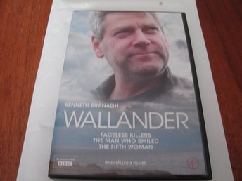 DVD-WALLANDER BOX MED 3 FILMER *Kenneth Branagh*