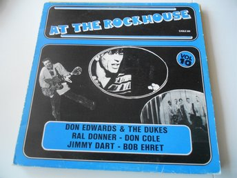 LP - AT THE ROCKHOUSE VOL 10, RAL DONNER & BILL SHERRELL & DON COLE . MF