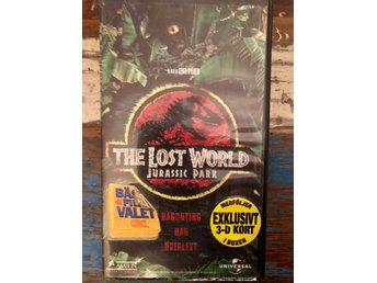 VHS 'The lost world - JURASSIC PARC'