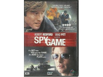 SPY GAME - BRAD PITT   (SVENSKT TEXT  )