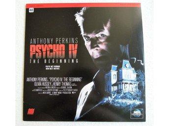 "Laserdisc ""Psycho 4, The Beginning"" Anthony Perkins - Ramlösa - Laserdisc ""Psycho 4, The Beginning"" Anthony Perkins - Ramlösa"