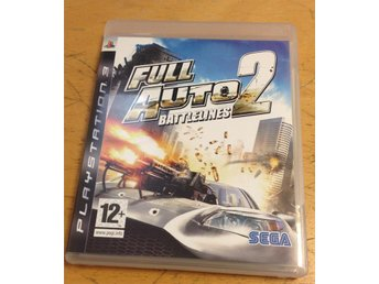 Full Auto 2 Battlelines PS3 Playstation 3