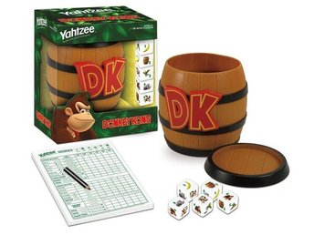 Donkey Kong Collector's Edition Yahtzee Dice Game