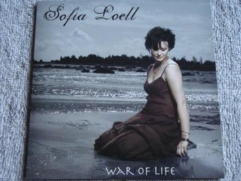 Sofia Loell - War of life, 2tr CDS - Ny!