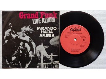 "GRAND FUNK 'Inside Looking Out' Mexican 7"", VERSION 2 - Bröndby - GRAND FUNK 'Inside Looking Out' Mexican 7"", VERSION 2 - Bröndby"