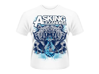 ASKING ALEXANDRIA- BEAR SKULL T-Shirt - Medium