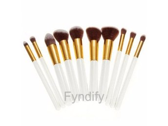 10st Makeup Borstar White & Gold Set