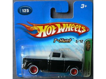 1956 Chevrolet pickup Flashsider Hot Wheels Nr125 2005 Treasure Hunt T-Hunt 5/12
