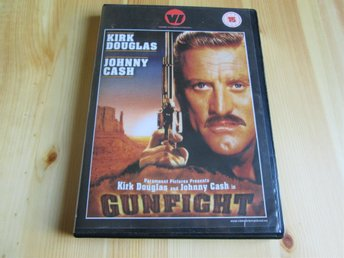 KIRK DOUGLAS & JOHNNY CASH - GUNFIGHT 1971, COUNTRY, WESTERN, COWBOY