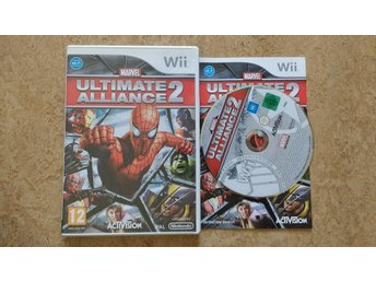 Nintendo Wii: Marvel Ultimate Alliance 2 II