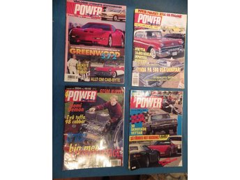 Power magasine  7 st