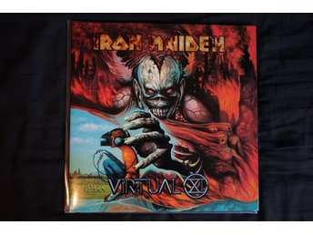 Iron Maiden Virtual XI ORIGINAL 1998