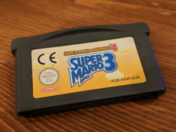 Nintendo Gameboy Advance Spel - Super Mario Bros 3