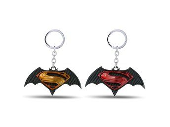 Batman vs Superman | Nyckelring - Gul