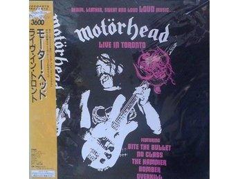 Motörhead titel* Live In Toronto*Laserdisc - Hägersten - Motörhead titel* Live In Toronto*Laserdisc - Hägersten
