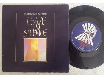 "7"" Depeche Mode - Leave In Silence - Mute records 1982 7 BONG 1"