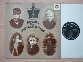 LEE KINGS bingo for t lk  LP  SWEDISH BEAT/FREAKBEAT