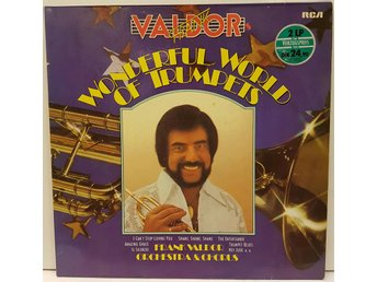 LP - Frank Valdor - wonderful world of trumpets