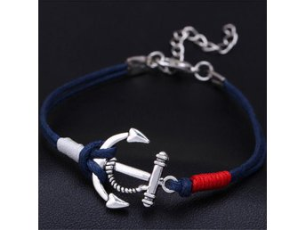 Summer Anchor Multilayer Rope Braided armband