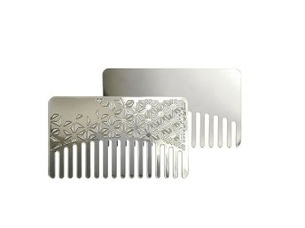 go-Comb Steel Star Mirror