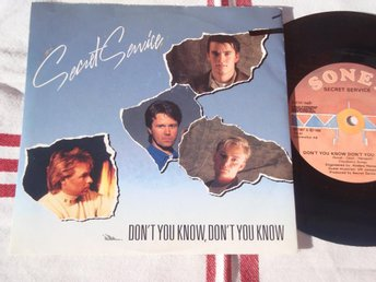 "SECRET SERVICE - DON´T YOU KNOW... 7"" 1988"