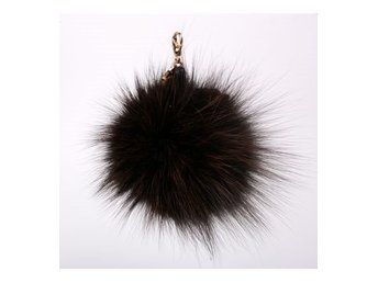 Hpi Of Sweden Handbag Decoration Real Fox Fur Brown - Mölndal - Hpi Of Sweden Handbag Decoration Real Fox Fur Brown - Mölndal