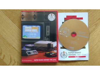 Super Mario History 25th Anniversary DVD 1985-2010