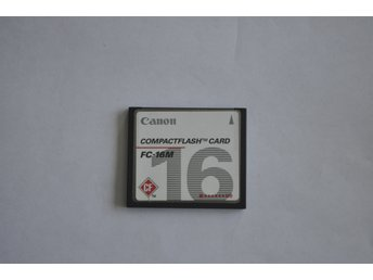 CompactFlash Canon  FC 16 MB CF Card