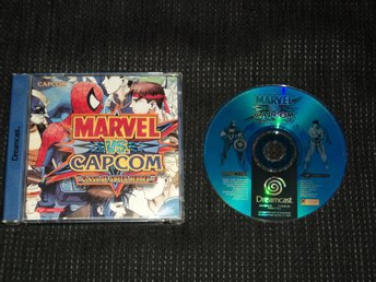 DC Dreamcast Marvel VS Capcom