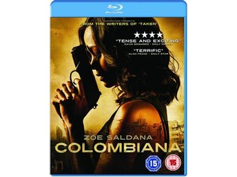 Colombiana (Zoe Saldana) - Bluray Blu-Ray