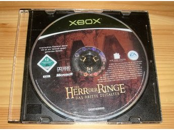 Xbox: Lord of the Rings the Third Age