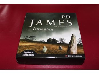 CD-bok: Patienten - P.D. James