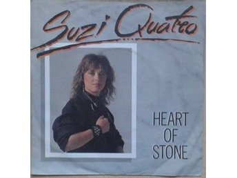 "Suzi Quatro titles* Heart Of Stone/ Remote Control *New Wave, Glam 7"" Germany"
