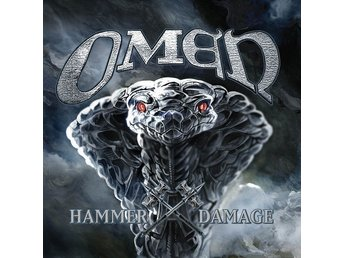 OMEN-Ny LP-Hammer Damage-LTD 400ex Black Vinyl+Insert-US Power Heavy Metal