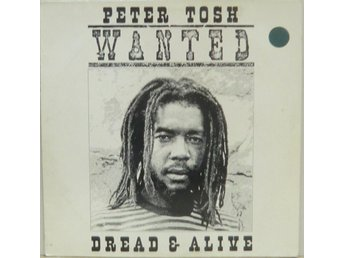 Peter Tosh-Wanted dread & alive / LP