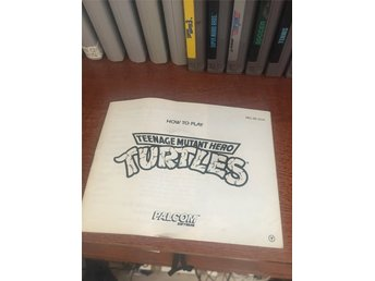 NES manual Turtles TMNT