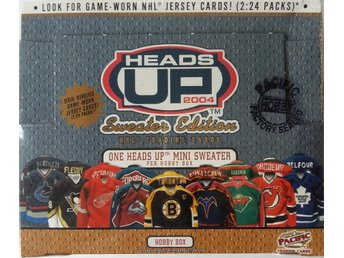 2003/2004 Pacific Heads UP Sweater Edition Hockey Hobby Box