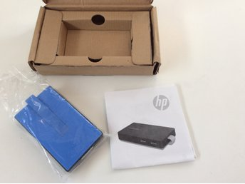 HP USB Travel USB 3.0 Dockningsstation