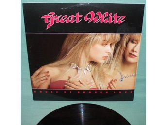 "GREAT WHITE - House of broken love , UK 12""MAXI 1989 , ,"