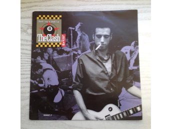 VINYL SINGEL THE CLASH SHOULD I STAY OR GO LEVIS REKLAM 501