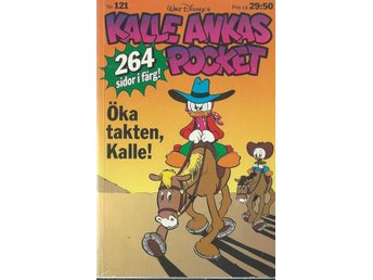 KALLE ANKAS POCKET - NR 121