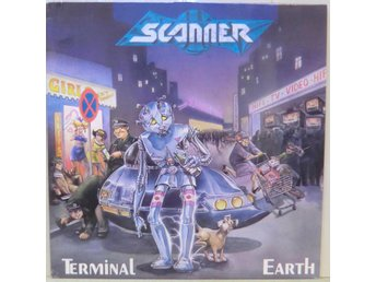 Scanner-Terminal earth / LP med insert (Noise Records)