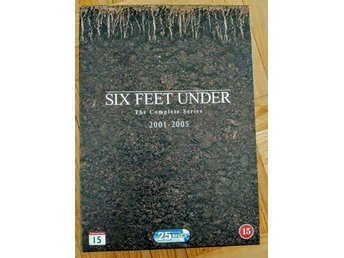 Six Feet Under - Complete Series - Säsong 1-5 (25-disc)