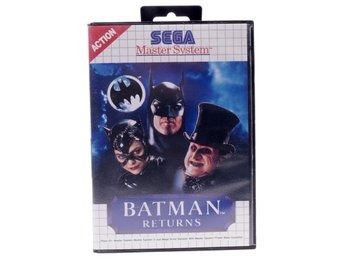 Batman Returns - Sega Master System - PAL (EU)