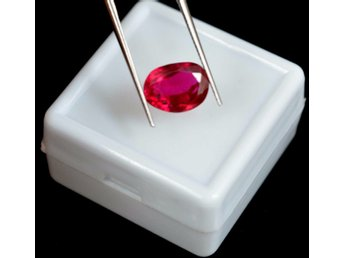 ÄKTA Natural Red Ruby 3.50 Ct with Certified
